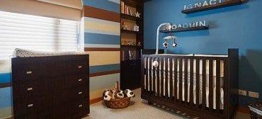Blue baby room