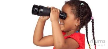 girl and binoculars diary of a travelling single mum