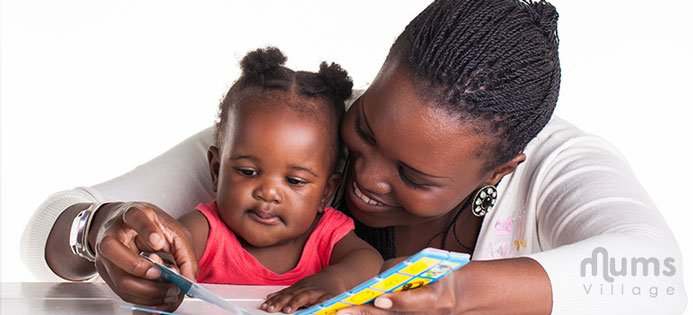 Single-Mums Village reading aloud to your child Nairobi