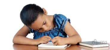 6-year-old-mixed-girl-doing-homework