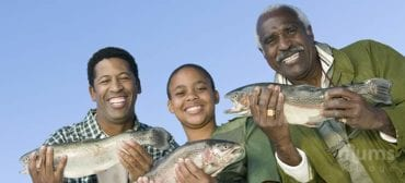 happy-father-son-and-grandfather-fishing