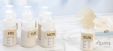 Motherhood, store breast milk