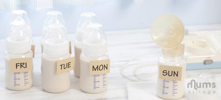 Motherhood, store breast milk