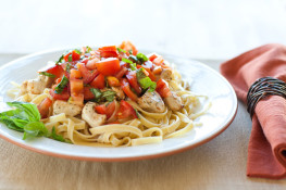 basil chicken pasta challenge diary