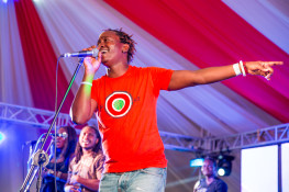 Eric Wainaina at Koroga Festival, 15th June 2014