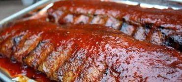 ribs honey glazed