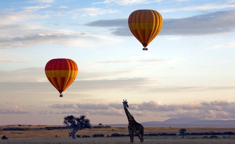 Amboseli-hot air balloon(Romantic getaway)