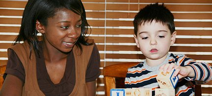 Nannytraining child development skills strong start Tej Kenya