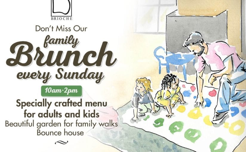 family brunch at Brioche