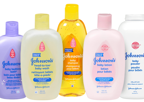 Johnson's Baby Skincare Products