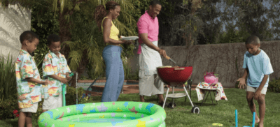 Budget - friendly backyard bbq