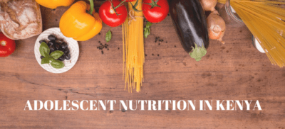 Adolescent Nutrition In Kenya