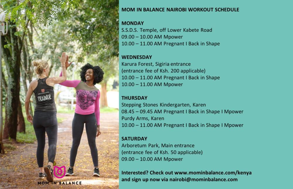 Moms in Balance