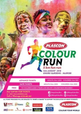 Kenya Colour Run