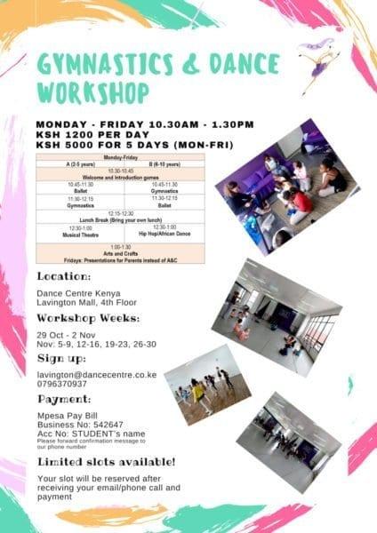 Gymnastics & Dance Workshop