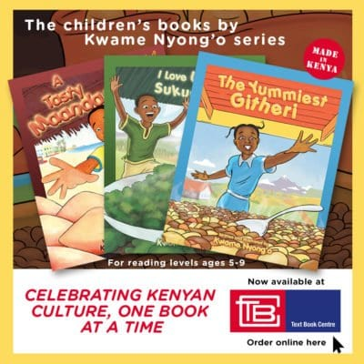 Children's books by Kwame Nyong'o