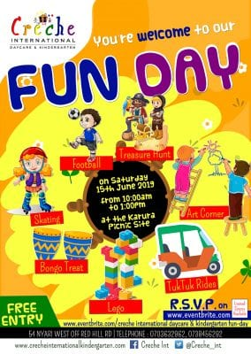 Creche International Fun Day