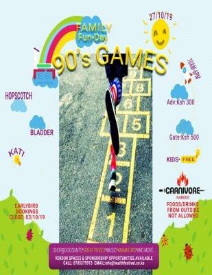 90's Game Family Fun Day