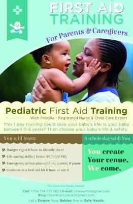 pediatric firstaid training