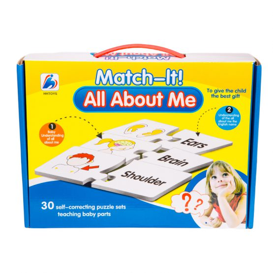 Match It All About Me Puzzle Set