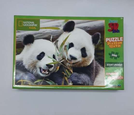 National Geographic Kids Panda Super 3D Puzzle