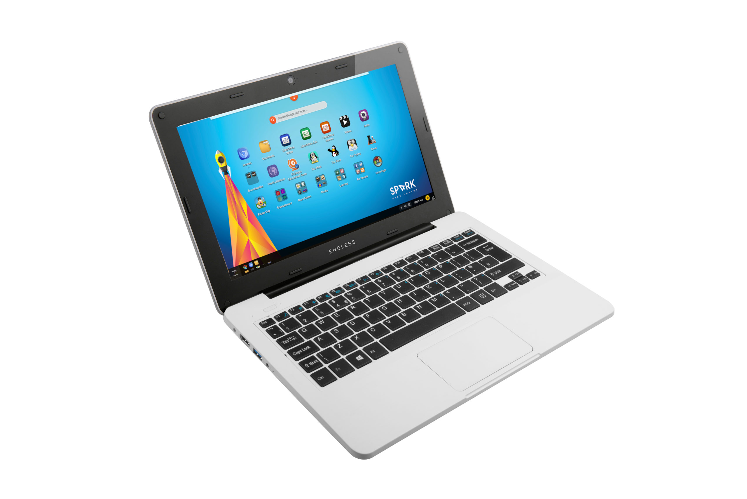 Spark laptop