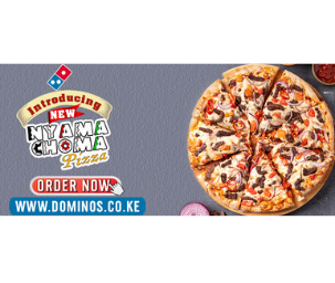 Dominos Nyamachoma Pizza