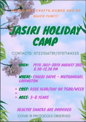 Jasiri Holiday Camp