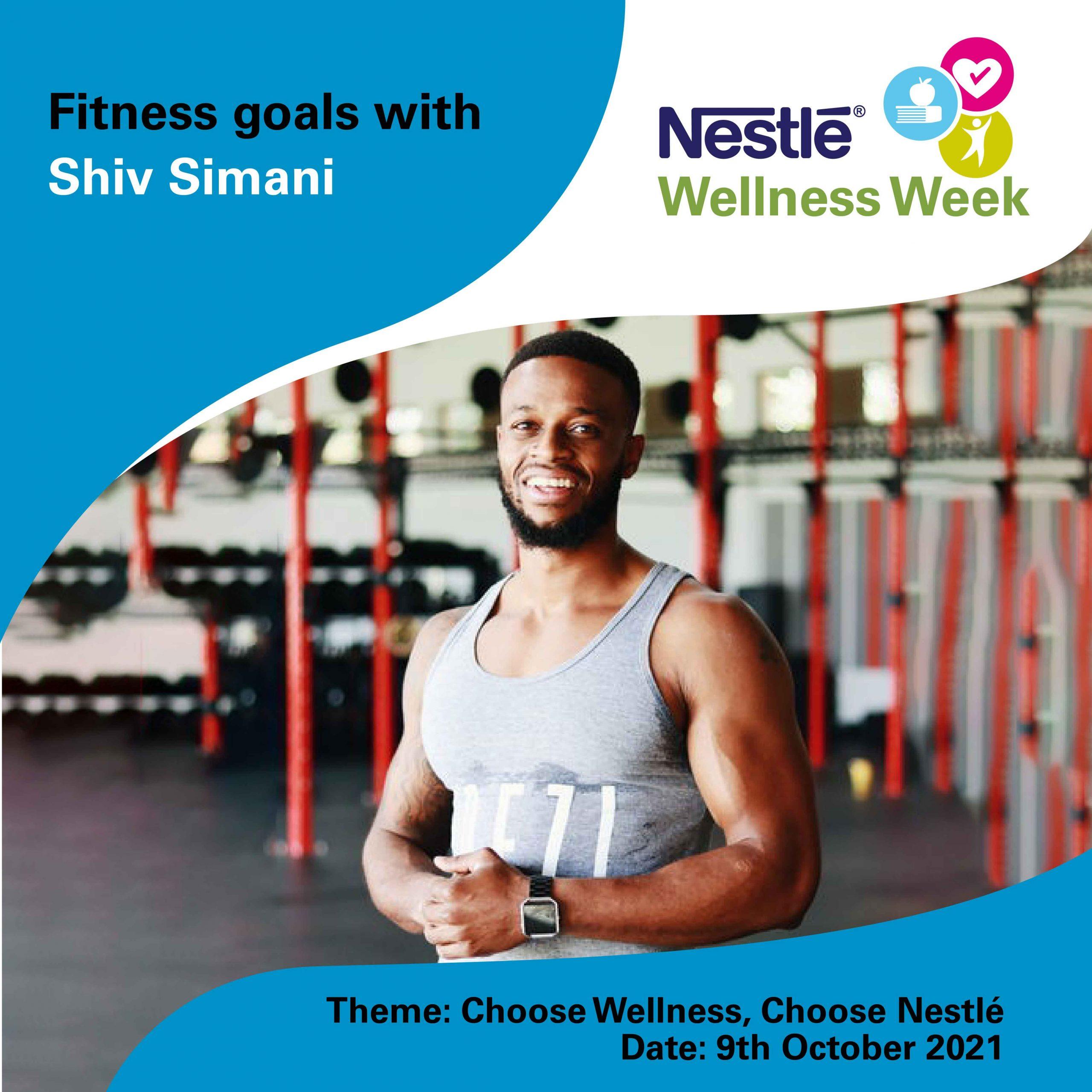 Shiv Simani - Nestlé Wellness Week