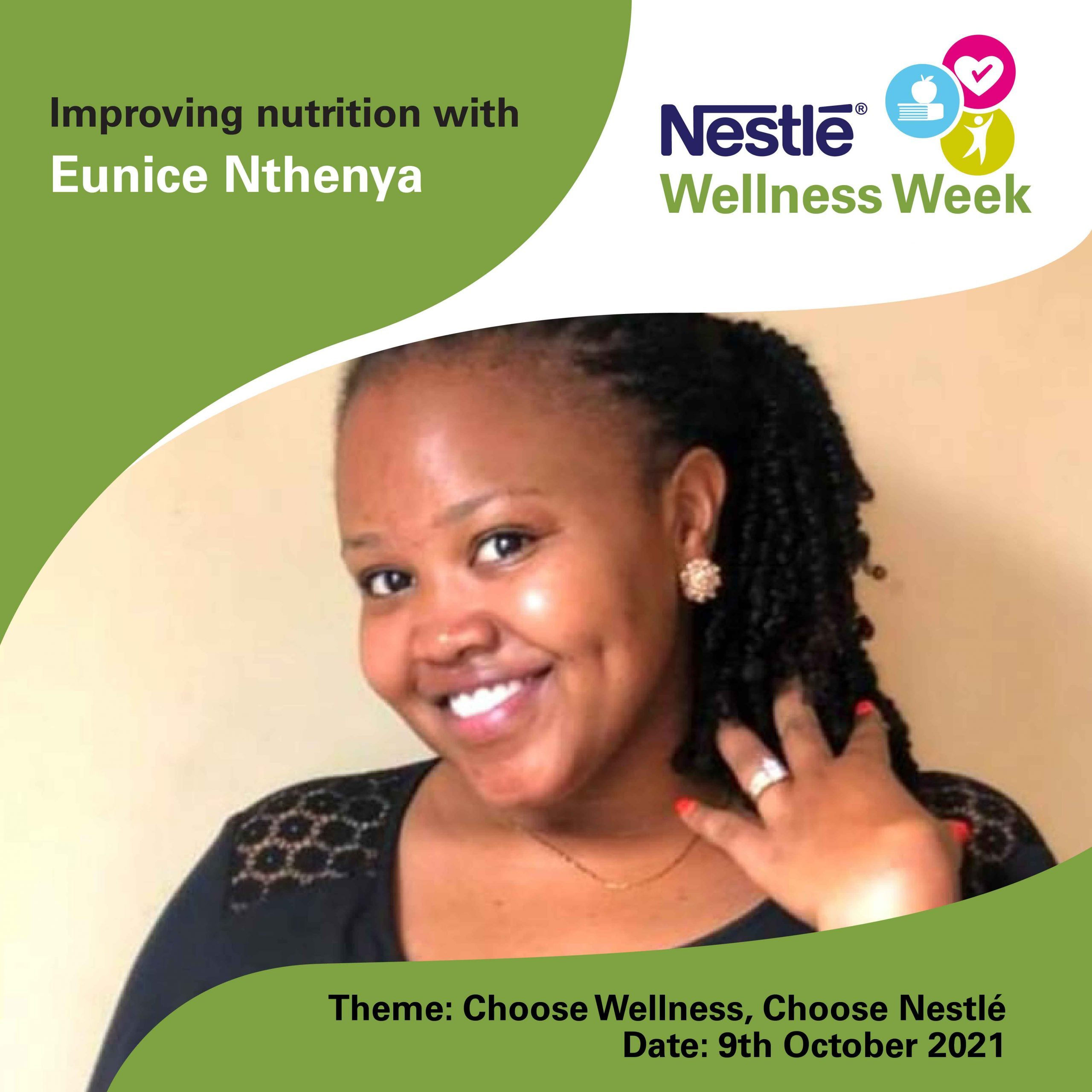 Eunice Nthenya - Nestlé Wellness Week