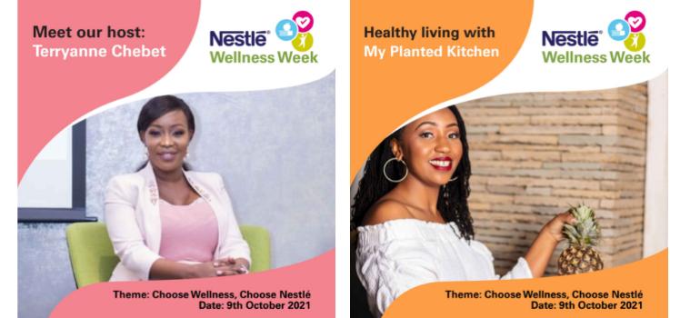 Nestlé Wellness Week - Terryanne Chebet & My Planted Kitchen
